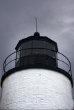 Lamp of Bass Harbor Lighthouse near Bar Harbor Maine Royalty Free Stock Photos
