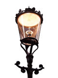 Lamp. Beautiful lanterns illuminating the streets and houses Royalty Free Stock Images