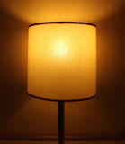Lamp in the bed room Royalty Free Stock Photo