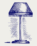 Lamp for the bedroom Royalty Free Stock Image