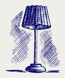 Lamp for the bedroom Royalty Free Stock Photos