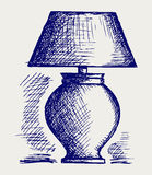 Lamp for the bedroom Royalty Free Stock Photo