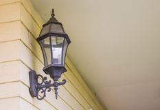 Lamp on beige Royalty Free Stock Photo