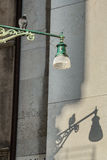 Lamp and bird Stock Images