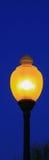 Lamp-Blue Night-Narrow Stock Photos