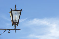 Lamp with blue sky Royalty Free Stock Image