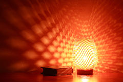Lamp And Book Royalty Free Stock Image