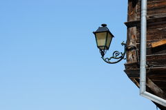 Lamp on building Stock Photo