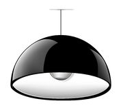 Lamp bulb. Vector lamp bulb in realistic style Royalty Free Stock Image