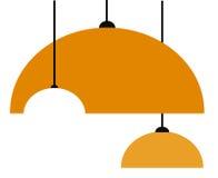 Lamp bulb. Vector lamp bulb on white background Stock Photo