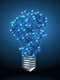 Lamp bulb Royalty Free Stock Photos