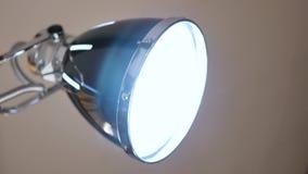 A lamp bulb. stock video