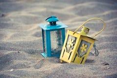 vintage lanterns Stock Image
