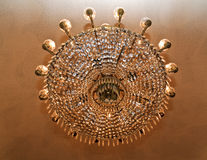 Lamp in casa Batllo royalty free stock photography