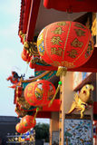 Lamp  china in thailand. Royalty Free Stock Photos