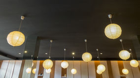 Lamp circle for interior Royalty Free Stock Photo