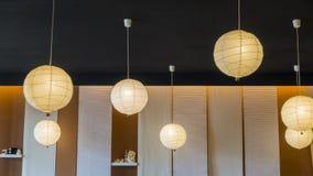 Lamp circle for interior Royalty Free Stock Image