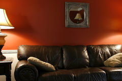 Lamp and the Couch Royalty Free Stock Images