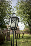 Lamp with Crossed Swords Stock Image