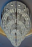 Lamp crystal in light background Royalty Free Stock Image