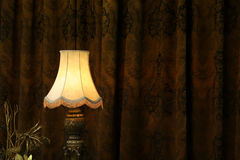 Lamp in dark. Stock Image