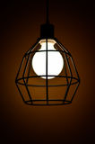 Lamp in the dark Royalty Free Stock Photo