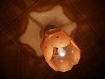 Lamp in de vorm van een ruit Royalty-vrije Stock Fotografie