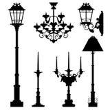 Lamp design set Stock Image