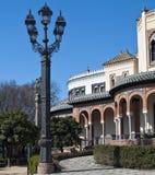 Lamp dichtbij een Arabisch huis Royalty-vrije Stock Afbeelding