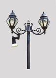 Lamp die op een witte achtergrond wordt geïsoleerdr Royalty-vrije Stock Afbeeldingen