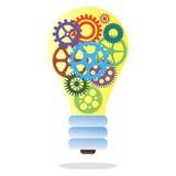 Lamp die uit toestellen bestaan Stock Afbeelding