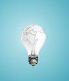Lamp earth Royalty Free Stock Photo