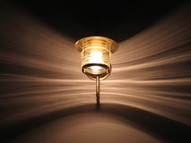 Lamp en Lichte Patronen stock foto's