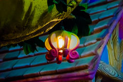 Lamp in the fairy tale Royalty Free Stock Photos