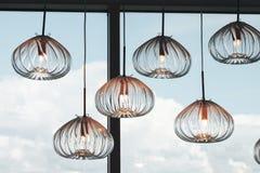 Lamp Fixture Row Royalty Free Stock Photography