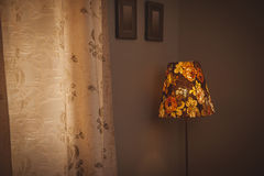 Lamp floor lamp in the interior Royalty Free Stock Image