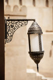 Lamp fort Nizwa Stock Photography