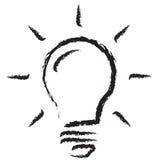 Lamp globes. Illumination symbol lamp globes on white background vector illustration