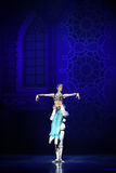 """The lamp of God- ballet """"One Thousand and One Nights"""" Royalty Free Stock Photos"""