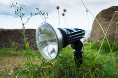 Lamp on the grass Stock Photography