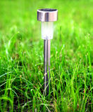 Lamp on the Grass Stock Photos