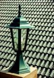 Lamp in het platteland Stock Fotografie