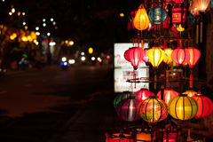 The lamp. At hoian from vietnam Stock Image