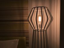 Lamp in the hotel Royalty Free Stock Images