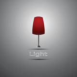 Lamp icon Royalty Free Stock Images