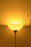 Lamp In Darkened Room Royalty Free Stock Images