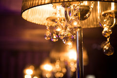 Lamp in interior Stock Images