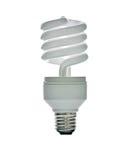 Lamp isoate Royalty Free Stock Photo