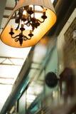 Lamp-lampan planläggs och är unikt bestämt intressant Royaltyfri Foto