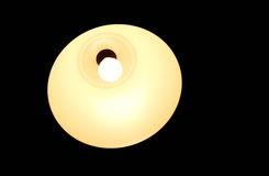 light bulb lamp dark Royalty Free Stock Photo